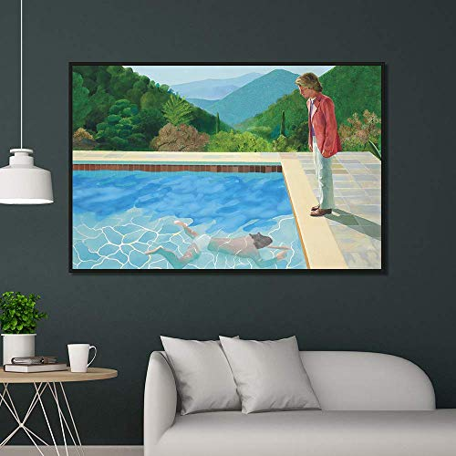YIYEBAOFU Print Canvas Wall Art Swimming pool canvas home decoration wall posters and prints art pictures living room prints40x60cm(No frame)