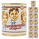 12x Original Schulküche Tomatensosse mit Jagdwurst - Ostprodukte und Ostwaren