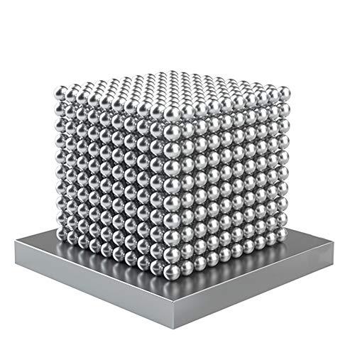 Magnetkugeln 1000 Stück, Vielseitiges Büro Und Technik Gadget, Anti Stress Geschenkidee, 1000 Stück Neodym Magnete Extra Stark 5mm Für Kühlschrank Magnettafel, Magnetic Ball