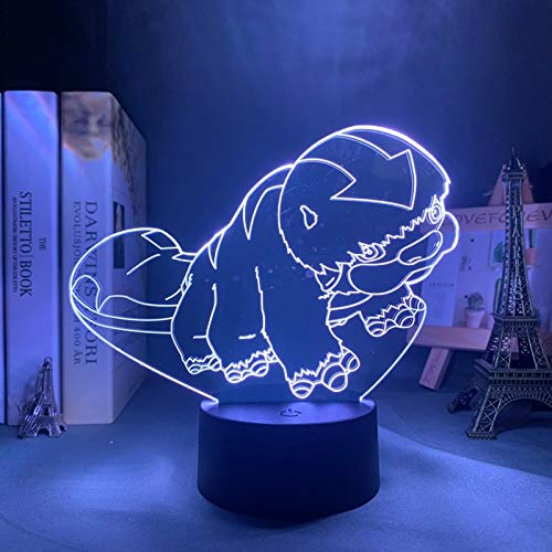 Avatar Die letzte Airbender Appa Lampe für Wohnkultur Geburtstagsgeschenk Led Nachtlicht Avatar Schlafzimmer Dekor Licht Appa