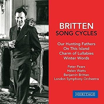 Benjamin Britten: Song Cycles