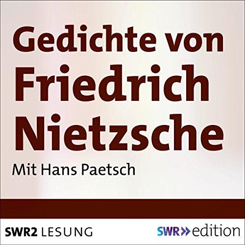 Gedichte von Friedrich Nietzsche Titelbild