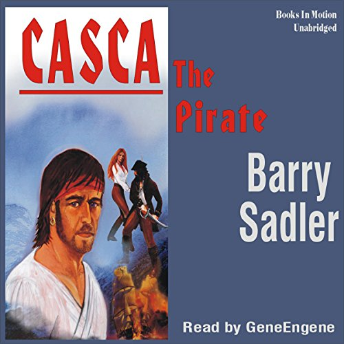 Casca the Pirate: Casca Series #15 audiobook cover art
