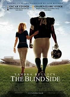 The Blind Side Movie Poster (27 x 40 Inches - 69cm x 102cm) (2009) Danish -(Sandra Bullock)(Kathy Bates)(Kim Dickens)(Tim McGraw)(Quinton Aaron)(Ray McKinnon)