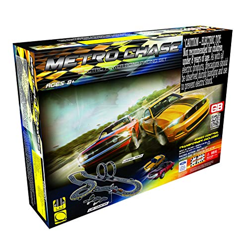 Golden Bright Metro Chase Road Racing Set- Electric Powered