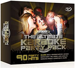 The Ultimate Karaoke Party Pack - 6 CD+G Box Set - from Zoom
