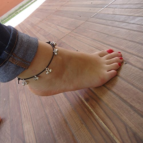 ✿ Cheap mail order sales ANKLET FOOT Tucson Mall Band BELLS barefoot Leather