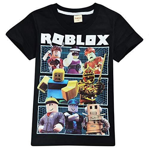 Kids Boys Roblox Fußball Spiele Family Gaming Team Top, Mehrfarbig 9-10 Jahre