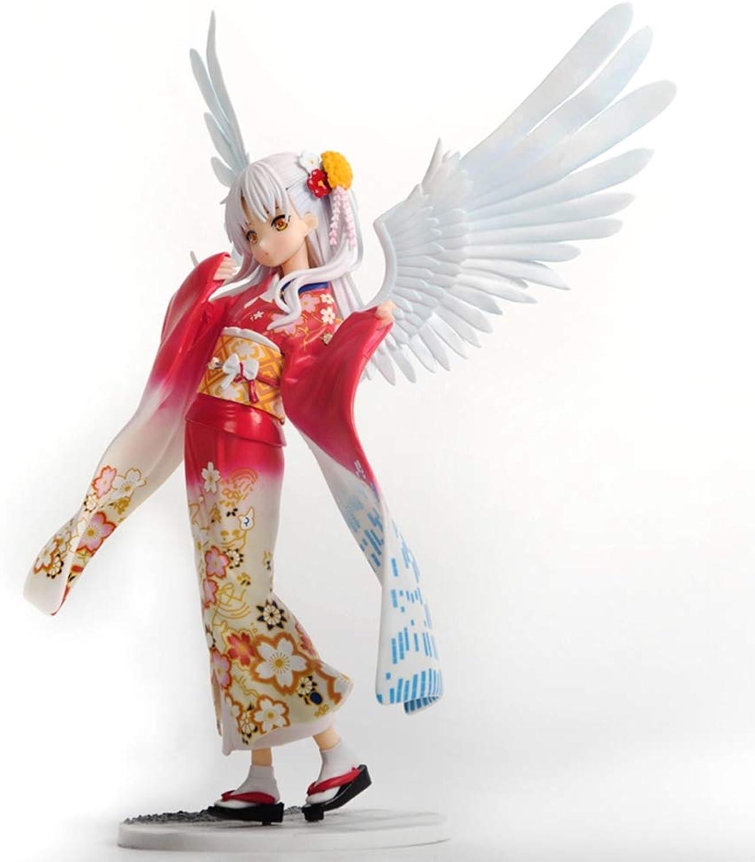 mejor vendido GSC Angel Beats Angel's Heartbeat Lihua Jugar Kimono Kimono Kimono Claro Decoración de Anime Hecha a Mano  clásico atemporal