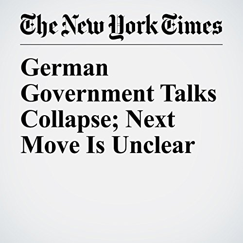German Government Talks Collapse; Next Move Is Unclear copertina