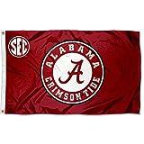 College Flags & Banners Co. Alabama Crimson Tide SEC 3x5 Flag