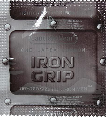 Iron Grip Snugger Fit Latex Condom …