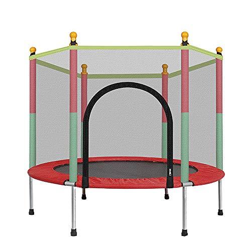 Kinder Trampolin Round Mute Fitness Sicherheitsgitter Kinder Bettmöbel Baby's Mobile Park Indoor-Spielplatz Mini-Zoll-Gehäuse Net Pad Rebounder Outdoor-Übung Heimspielzeug Springen Last