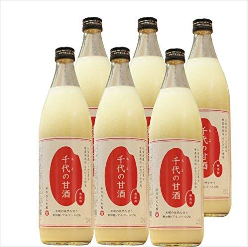 北海道産アイガモ農法 無農薬栽培ゆめぴりか米糀の甘酒 900ml×6本