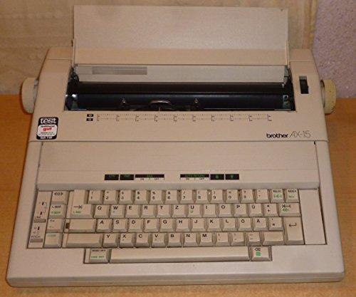 Brother AX-15 elektrische Schreibmaschine