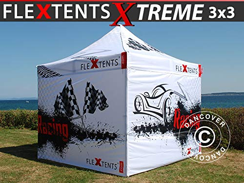 Dancover Vouwtent/Easy up tent FleXtents Xtreme 50 Racing 3x3m, Limited edition