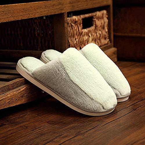 WTFYSYN Interior Casa Caliente Pantuflas,Zapatillas de algodón...