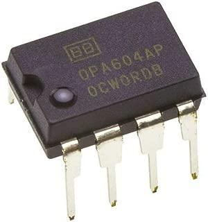 Burr Brown OPA604AP OPA604 FET-Input Low Distortion Audio Operational Amplifier Op-Amp Breadboard-Friendly (Pack of 4)