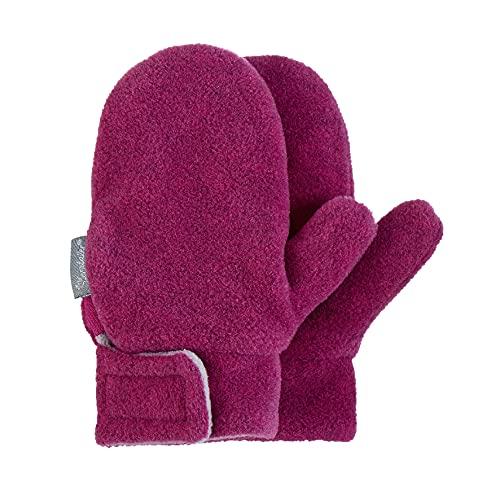 Sterntaler Unisex Baby Fäustel Cold Weather Gloves, Magenta Mel., 2 EU