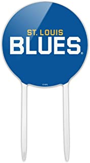 GRAPHICS & MORE Acrylic NHL St. Louis Blues Logo Cake Topper Party Decoration for Wedding Anniversary Birthday Graduation