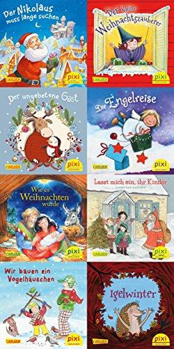 Pixi-Weihnachts-8er-Set 33: Fröhliche Weihnacht überall (8x1 Exemplar) (33): Paket mit 8 Pixi-Büchern