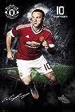 Manchester United - Poster - Wayne Rooney 15/16 + Ü-Poster