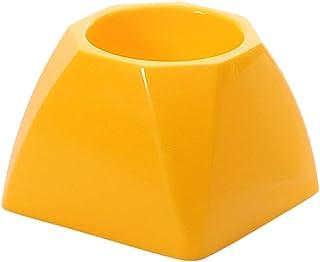 Color Amarillo Transparente Escobilla de ba/ño Spirella 10.15287 Cubo