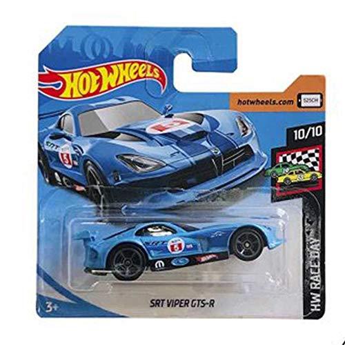 Mattel Cars Hot Wheels Dodge SRT Viper GTS-R HW Race Day 124/250 2019 Short Card