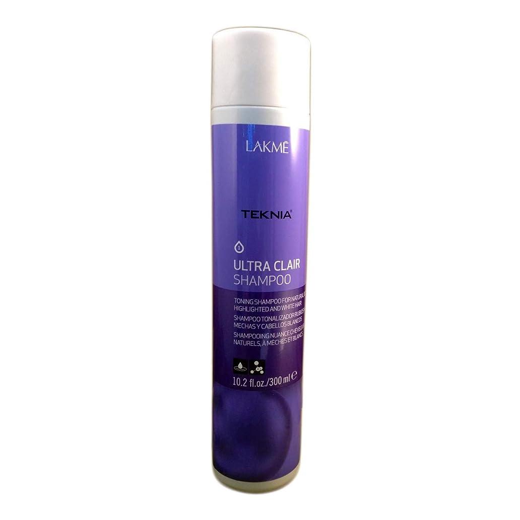 実際揃える感謝Lakme Teknia Ultra Clair Shampoo 10.2 Oz (300ml)