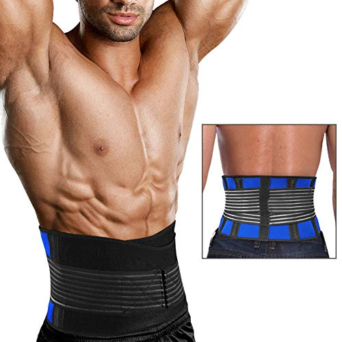 CHIYA Tummy Fat Burning Slimming Belt,Hot Thermo Body Shaper, Waist Trimmer Belt,Abdominal Trainers,Best Waist Trimmer Beer Belly for MenL