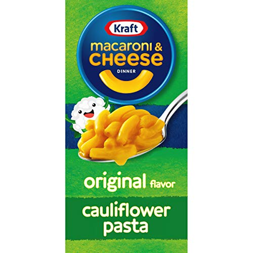 Kraft Original flavor Macaroni And Cheese With Cauliflower Pasta Meal 55 oz Boxes Pack Of 12
