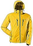 Black Crevice Herren Ski- und Snowboardjacke, gelb/blau, 52, BCR251003