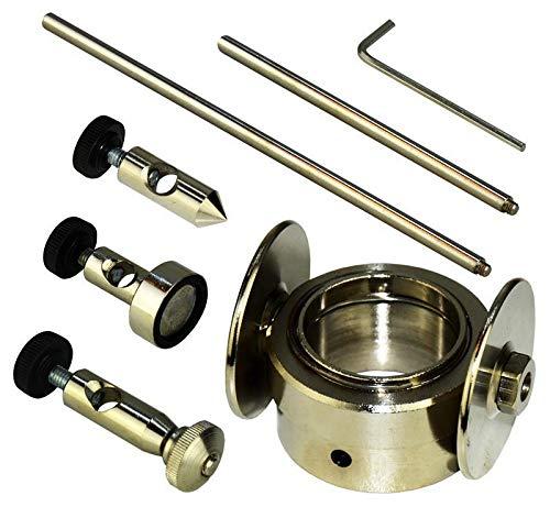 Kreisschneider für Plasmaschneider Plasmabrenner Plasmacutter Cutter P80 + Magnet und Führungsschiene für Plasmaschneider mit Pilotzündung von Vector Welding