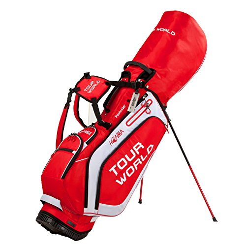 Lowest Price! Honma CB1717 Stand Bag Red/White