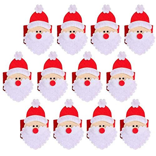 THEE Serviettenringe Serviettenbänder Serviettenhalter Weihnachten Tischdekoration Servietten Halter
