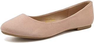 Women Ballet Flats Classy Simple Casual Slip-on Comfort...
