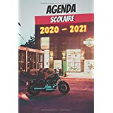 AGENDA SCOLAIRE 2020 - 2021: Agenda moto 2020 - 2021 standard Collège - Lycée - Etudiant - d'août à août - avec calendrier des vacances scolaires par zones et jours fériés