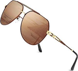 Cyxus Occhiali da sole per uomo e donna, lenti polarizzate, protezione 100% UV400, antiriflesso, occhiali polarizzati per ...