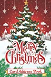 Christmas Card Address Book: 10 Year Holiday Cards and Gifts Tracker With A-Z Tabs (Send and Receive Tracker)
