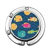 Colorido pez anémona con Peces exóticos en Las Olas animación Acuario acuático bebé pez Mariposa Dibujos Animados Personalizado Plegable