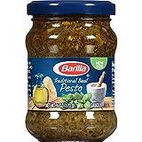 Barilla Traditional Basil Pesto Sauce, 6 Ounce (Pack of 8)
