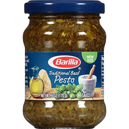 professional Traditional Barilla Basil Pesto Sauce, 6 oz (8 packs) (00076808007701)