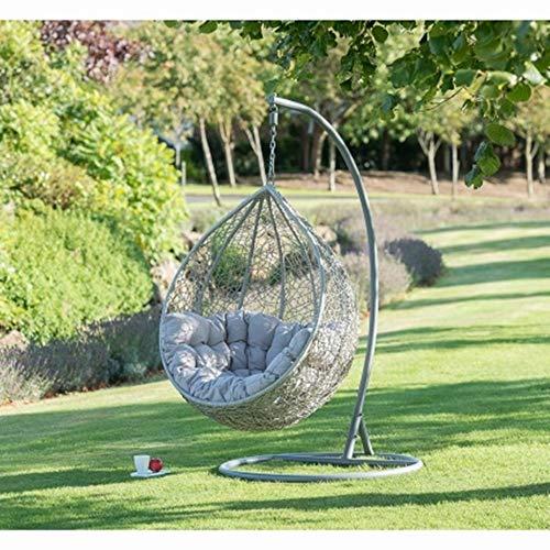 scotrade G19 Siena - Silla Colgante para jardín, diseño de Huevo