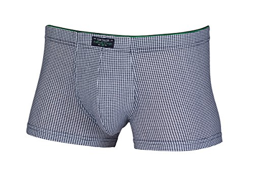 TOM TAILOR Underwear Pant Short enganliegend Gr. S M L XL XXL Baumwolle Stretch (4 / S, Navy-Vichy)
