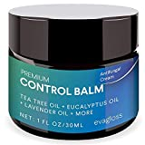 Evagloss Antifungal Cream Repair Anti-Itch Balm for Face & Body, Athletes Foot, Ringworm, Eczema, Dry Skin, Jock Itch, Nail Fungal Infections, Antibacterial Intense Moisture, Gentler and Safer