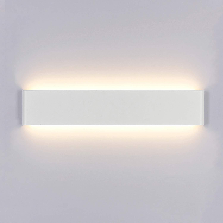 Yafido Aplique Pared Interior LED 14W Lámpara de pared Moderna Blanco Cálido Perfecto para Salon Dormitorio Sala Pasillo Escalera: Amazon.es: Iluminación