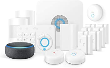 Ring Alarm Smoke & CO Kit + Echo Dot (3rd Gen), Works with Alexa