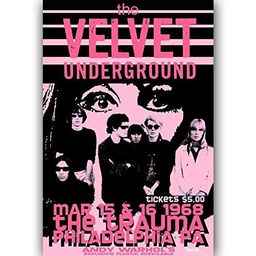 Pintura en lienzo Rock Roll Music Band Art Poster Decor Wall Art 50x70cmNoframe 1st