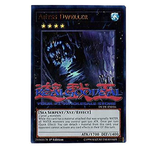 x3 Abyss Dweller DUDE-EN016 Ultra Rare 1st Edition
