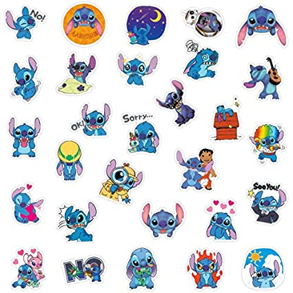 101pcs Mixed Anime Characters Stickers,Cute Cartoon Skateboard Stickers,Laptop Water Bottle Stickers Vinyl Waterproof Stickers Computer,Phone,Stickers for Adults Teens